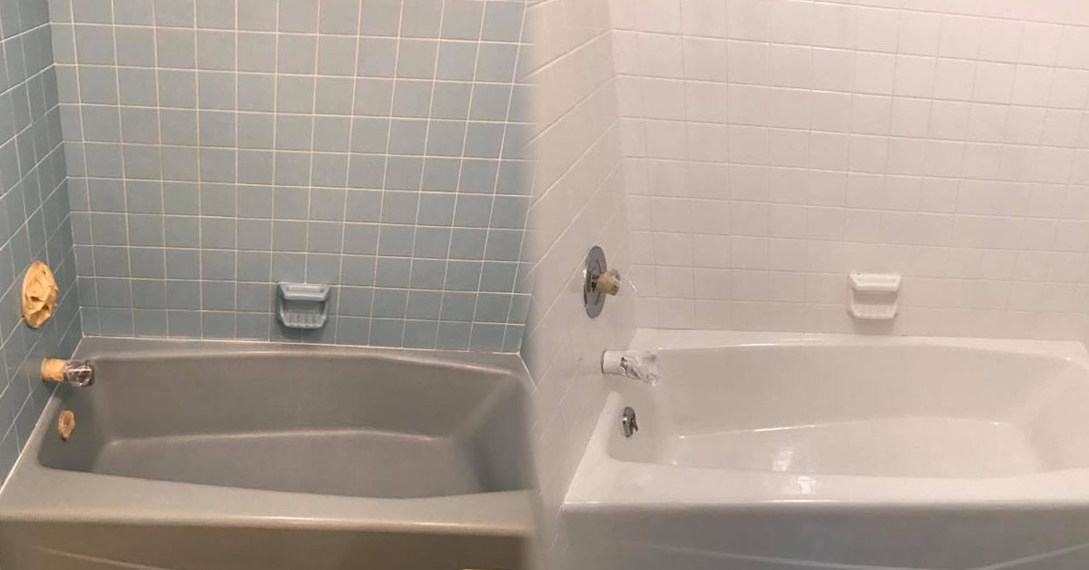 Bathtub Refinishing-San Diego Bathtub Reglazing & Tub Resurfacing Pros