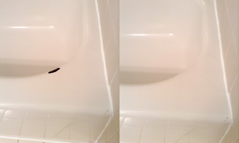 Chips and Cracks Repair-San Diego Bathtub Reglazing & Tub Resurfacing Pros