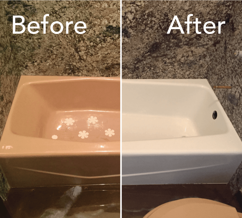 Fiberglass Bathtub Refinishing-San Diego Bathtub Reglazing & Tub Resurfacing Pros