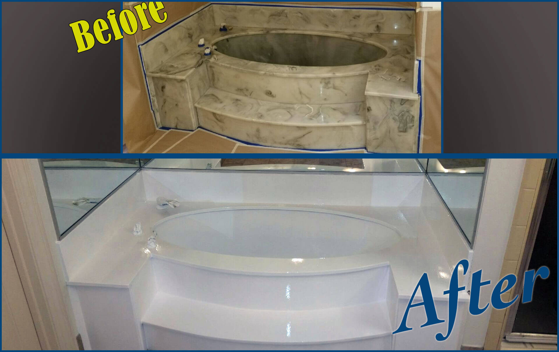 Tub Resurfacing-San Diego Bathtub Reglazing & Tub Resurfacing Pros